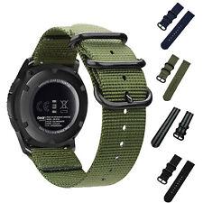 Sport Woven Nylon Watch Band Wrist Strap Bracelet 18-24mm Quick Release