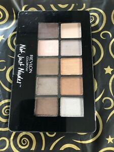 Revlon Colorstay Not Just Nudes Shadow Palette  01 Passionate Nudes.  Sealed.