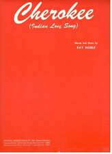 CHEROKEE (INDIAN LOVE SONG) SHEET MUSIC-1938-PIANO/VOCAL/CHORDS-NEW ON SALE-RARE