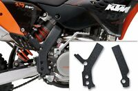 Custom MX Motocross KTM C5 SX/SXF EXC XCF XCW 07-11 Black Frame Guard Grip Tape