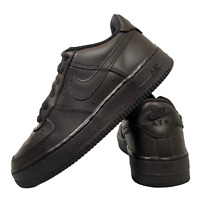 Nike Air Force 1 Women's Boy's Shoes Size Uk 3.5 Black Casual Trainers EUR 36