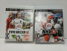 NHL 13 & FIFA Soccer 12 (Sony PlayStation 3, 2012) exclusive content on ps3