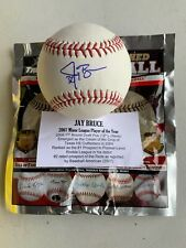 Jay Bruce Seattle Mariners Signed Autographed Rawlings Baseball Tristar COA