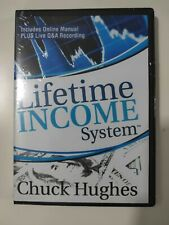 2 DVD Chuck Hughes Lifetime Income Trading System 2 DVD Stock Market Day Traders