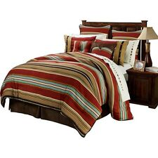 Montana Western 5 Pc Super Queen Comforter Bedding Set -Ranch Equestrian Bedroom