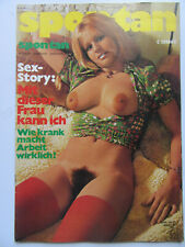 Spontan Nr 3/1977, Satire Sex Politik, Inhalt siehe Foto,