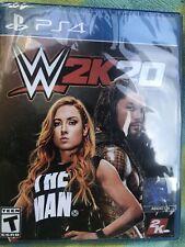 WWE 2K20 -- Standard Edition (Sony PlayStation 4, 2019)