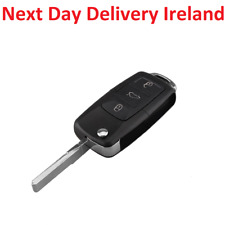Uncut Replacement Blank Remote Car Shell Key for VW Golf Seat Leon Skoda Octavia