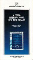 Chile 1988 Brochure V Feria Internacional del Aire FIDA´88