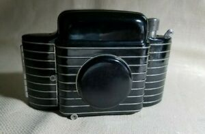 Kodak Bantam Special Art-Deco Film Folding Camera, Case, & Owners Manual