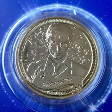 Harry Potter Limited Edition 38mm Collectors Shiny Coin In Protective Capsule