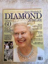ROYAL QUEEN ELIZABETH II DIAMOND JUBILEE MAGAZINE 1952-  2012