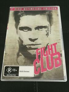 Fight Club 2 disc DVD Brad Pitt Action - Definitive Edition