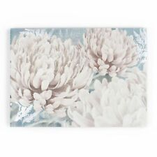 Art for the Home Teal Bloom Printed Canvas (Was £20)
