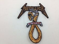 Metallica Embroidered Patch ~ Snake