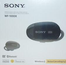 Sony Premium Noise Cancelling True Wireless Headphones - Black (WF1000X/B) NEW