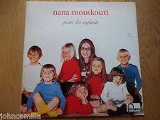 NANA MOUSKOURI - POUR LES ENFANTS LP / ALBUM / VINYL - FONTANA - 6325 300