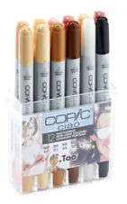 COPIC CIAO 12 SKIN TONES SET  TWIN TIPPED MARKERS  *BNIB- SALE*