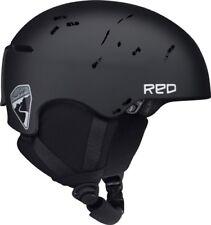 Burton RED Avid Grom Snowboard Ski Helmet MT Black YOUTH XL ADULT SMALL 55-56 CM