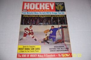 1964 Hockey TORONTO Maple Leafs JOHNNY BOWER Detroit RED Wings MARCEL PRONOVOST