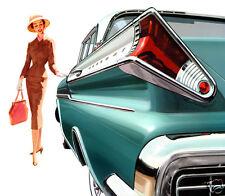 1957 Mercury Monterey, Turqouise, Refrigerator Magnet, 40 MIL