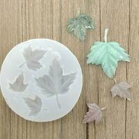 Maple Leaf Pendant Silicone DIY Molds Resin Casting Mould Jewelry Making Craft