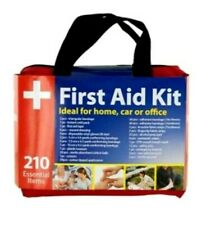 210 Piece First Aid Kit Easy Access Carrying Case All Purpose Emergency Survival