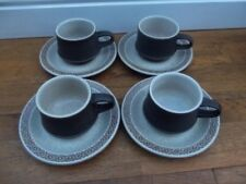 Purbeck Pottery Cups & Saucers