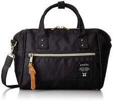 Anello Japan Small 2way Shoulder Bag Carry Case Black AT-H0851