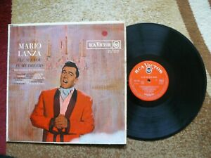MARIO LANZA ~ I'll See You In My Dreams ~ RCA Red Seal RB6591 ~ Vinyl LP ~ RARE