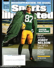 2014 Sports Illustrated Green Bay Packers Jordy Nelson Subscripion Issue NR/Mnt