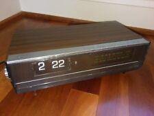 Vintage Retro York AM FM Digital Clock Radio Transistor Flip Number Model DC-102