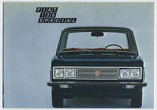 (36B) 3 CATALOGUES FIAT 125 SPECIAL