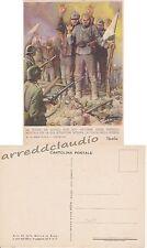 CARTOLINA  XX MARCIA SU ROMA RUSSIA DEI SOVIETI MUSSOLINI PROPAGANDA FASCISTA