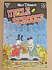1987 GLADSTONE COMICS WALT DISNEY'S UNCLE SCROOGE #219 DON ROSA FIRST PRO WORK