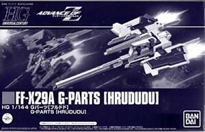 Bandai HGUC 1/144 FF-X29A G-Parts [HRUDUDU] Plastic Model Kit