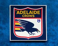 Adelaide Football Club - Vintage Crows AFL Footy Sticker