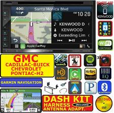 2000 & UP GM KENWOOD GERMIN NAV CARPLAY ANDROID AUTO BLUETOOTH USB  STEREO