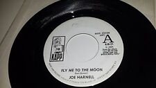 "JOE HARNELL Our Day Will Come / Fly Me To The Moon KAPP 21 PROMO 45 7"" VINYL"
