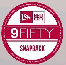 9 Cinquante Casquette Réglable New Era Stickers x4