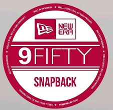 9 Fifty Snapback Cap New Era Pegatinas x4