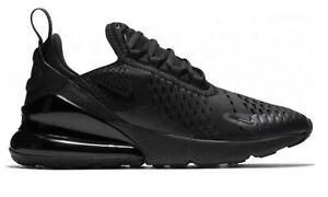 Original Kids Unisex Original Nike Air Max 270 Black Trainers BQ5776 001