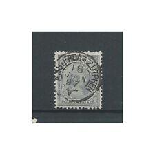 """Nederland  38 met """"AMSTERDAM-ZUTPHEN V 1897"""" kleinrond VFU/gebr  CV 10 €"""