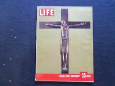 1955 DECEMBER 26 LIFE MAGAZINE - CHRISTIANITY SPECIAL ISSUE - L 987
