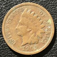 1909 Indian Head Cent Penny 1c One Cent High Grade #14954