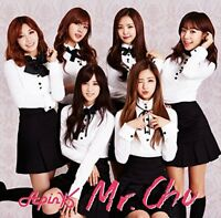APINK-MR. CHU (ON STAGE) JAPANESE VER.(TYPE-B)-JAPAN CD+DVD Ltd/Ed
