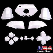 Dpad Triggers Bumper Buttons Repair Parts for Xbox One Controller Glossy White