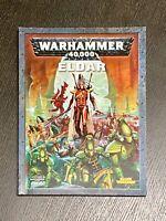 Games Workshop Warhammer 40K 40,000 4th Edition Codex Eldar (2006)