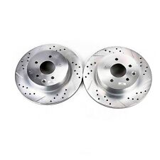 Disc Brake Rotor Set-Extreme Performance Drilled and Slotted Brake Rotor Rear