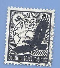 Germany Third Reich Nazi 1934 Nazi Swastika Eagle Luftpost 100 Stamp  WW2 ERA #5